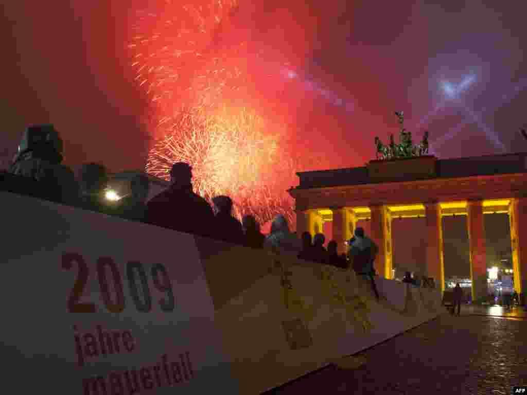 Германия отметила 20-летие падения Берлинской стены