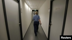Коридор тюрьмы в Швенингине