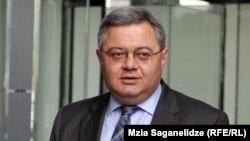 Georgia's parliament speaker David Usupashvili