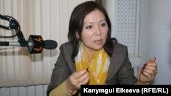"""Урмат Аманбаева """"Азаттыкта"""", 20-январь, 2012"""