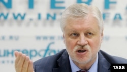Лидер фракции «Справедливая Россия» Сергей Миронов.