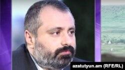 Заместитель руководителя аппарата президента Нагорного Карабаха Давид Бабаян (архив)