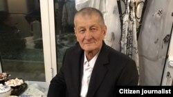 Самандар Куканов в день освобождения из колонии, 24 ноября 2016 года.