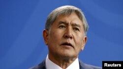 المازبیک اتامبایف رئیس جمهور سابق قرغزستان