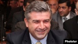 Armenia - Karen Karapetian, head of ArmRosGazprom company, was elected as new Mayor of Yerevan, 17Dec2010