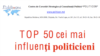 Moldova -- Top 50 politicians of Moldova, October 2011, by Politicon Think Tank