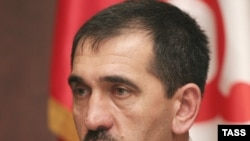 Ingushetian President Yunus-Bek Yevkurov was appointed by Medvedev in October