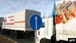 Один із попередніх незаконних «гуманітарних конвоїв» Росії