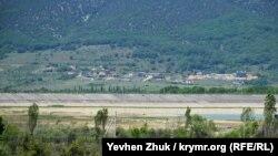 Чернореченское водохранилище, июнь 2020 года