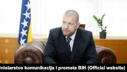 Ismir Jusko, ministar prometa i komunikacija BiH