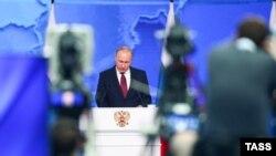 Послание президента России В.Путина Федеральному собранию РФ