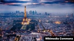Pamje panoramike e Parisit
