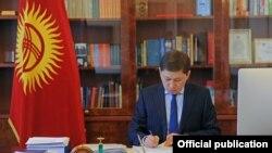 Премьер-министр Сапар Исаков.