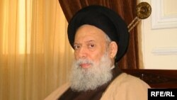 Sayyed Muhammad Hussein Fadlallah in a 2005 photograph