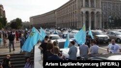 Автопробіг у Києві, архівне фото