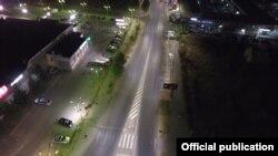 Улично осветлување во Битола