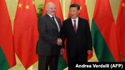 Александр Лукашенко и Си Цзиньпин.
