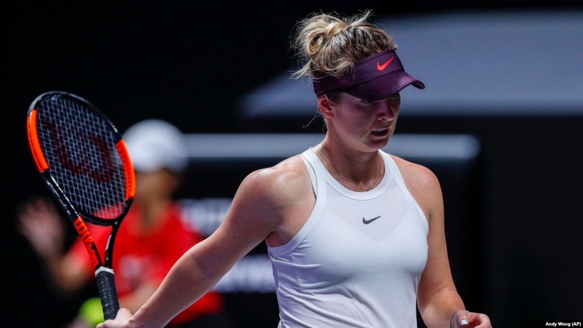 Теннис: украинка Элина Свитолина в рейтинге WTA опустилась на две позиции