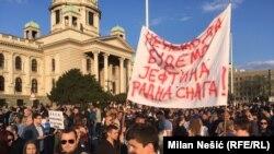 Protest u Beogradu, 9. aprila