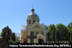 Церква, у якій з 1852 до 1854 був парохом отець Михайло Вербицький