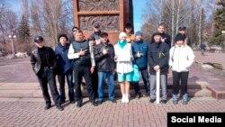 """Елена Блинова (в центре). Фото: личная страница """"ВКонтакте"""""""