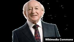 Ирскиот претседател Мајкл Хигинс