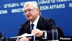 Ermənistanın xarici işlər naziri Edward Nalbandian
