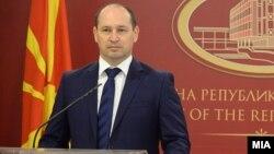 Министерот за финансии Кирил Миновски.