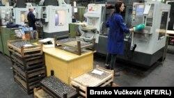 """Radnici u fabrici oružja """"Zastava"""" u Kragujevcu, ilustrativna fotografija"""