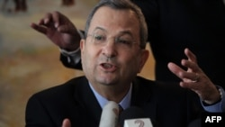 "Israeli Defense Minister Ehud Barak on February 2 cited ""a wide understanding in the world that if the sanctions do not achieve the desired goal of stopping the [Iranian] military nuclear program, there will be a need to consider taking action."""