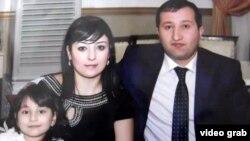Журналист Парвиз Гашимли с семьей