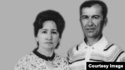 Шефика Консул с мужем Мустафой