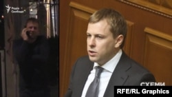 Серед візитерів офісу Коломойського журналісти впізнали одного з керівників депутатської групи «Відродження» Хомутинніка