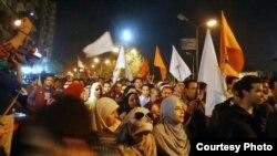 од протестите на опозицијата против предлог - уставот