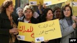 عراقيات يطالبن بالمشاركة في صنع القرار