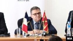 Архивска фотографија- Амбасадорот на Франција во Македонија Кристијан Тимоние