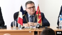 Архивска фотографија: Амбасадорот на Франција во Македонија Кристијан Тимоние
