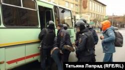 Задержания в Красноярске