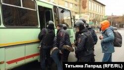 Задержания на акции в Красноярске, 5 мая 2018