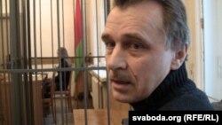 Анатоль Лябедзька падчас суду