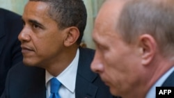 U.S. President Barack Obama (left) and Russian President Vladimir Putin will reportedly meet in June instead, on the sidelines of another economic summit.