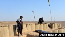 Опорный пункт сил безопасности Афганистана. Иллюстративное фото.