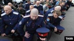 С просьбой разработать и принять такой закон о государственной службе казачества югоосетинские казаки обратились в парламент республики