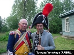 Андрей Бурлаков и исторические реконструкторы