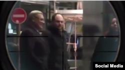 """Кадр из видео в """"Инстаграме"""" Кадырова"""