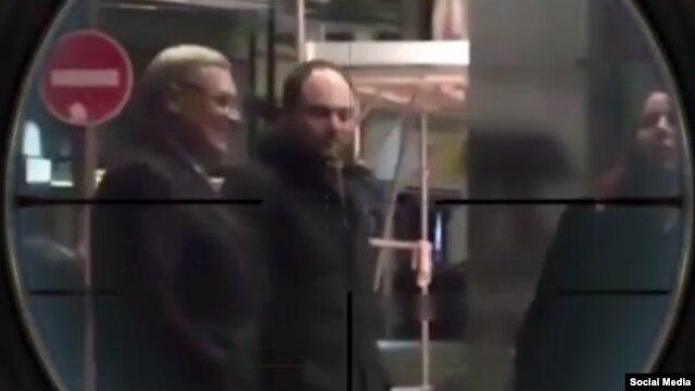 Кадр из видео в инстаграме Рамзана Кадырова