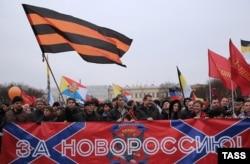 """""""Русский марш"""" в Петербурге, 4 ноября 2014 года"""