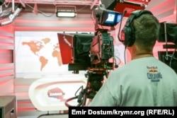 Студия телеканала ATR в Киеве
