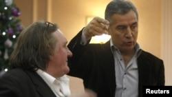 Gerard Depardieu i Milo Đukanović