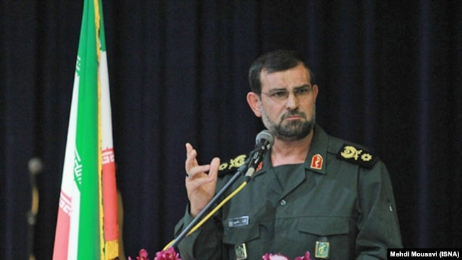 Iran -- The newly appointed IRGC's Navy Commander Alireza Tangsiri, undated.